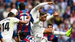 El Real Madrid sufre una sequía goleadora