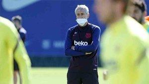 Rivaldo no quiere que Setién arriesgue con Messi