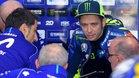 Rossi se quejó de las prestaciones de la M1 en 2018
