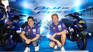 Rossi y Viñales cambiarán a los colores de Monster