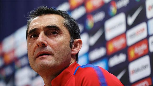 La rueda de prensa de Valverde previa al clásico