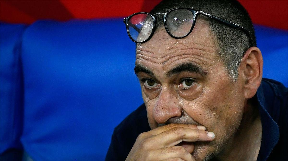 Sarri: Parece que esta competición está maldita para la Juventus
