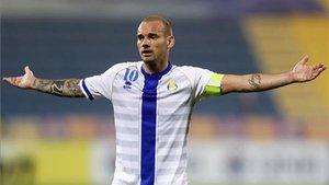 Sneijder, por lesión, estará en el dique seco hasta marzo