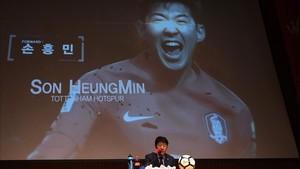 Son, presentado por Corea del Sur para los juegos asiáticos