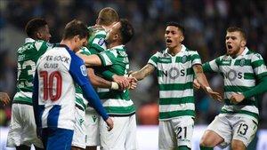 El Sporting, campeón de la Taça