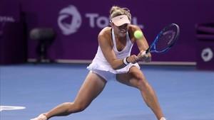 Wozniacki gana en Doha