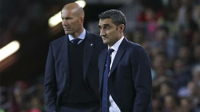 Zidane vs Valverde, cara a cara