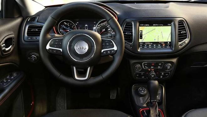 Interior del nuevo Jeep Compass