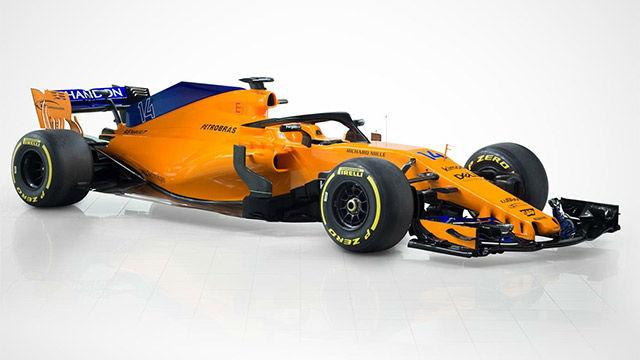Así es el nuevo McLaren MCL33 de Fernando Alonso