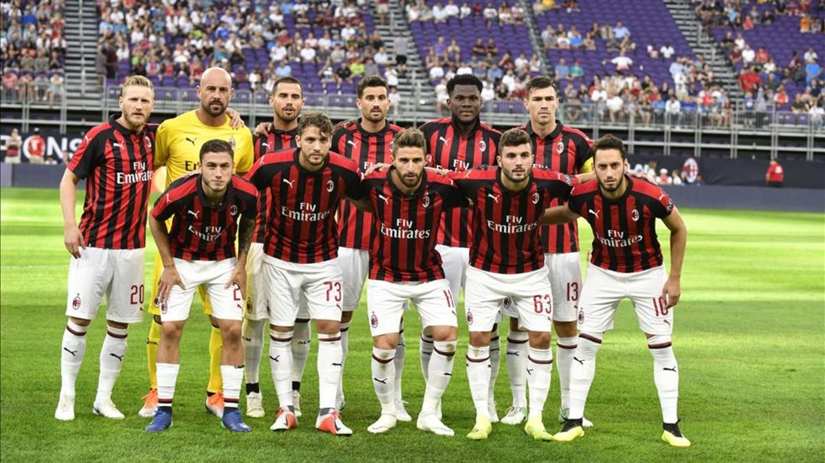 Camiseta AC Milan IVAN STRINIC