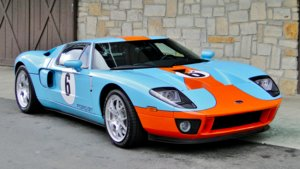 Ford GT Gulf Heritage Edition.
