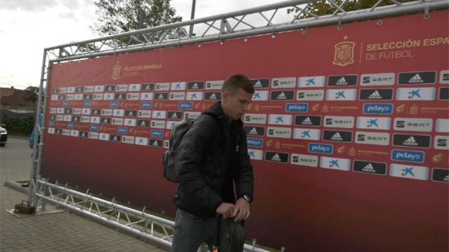 España se concentra con Dani Olmo como atracción