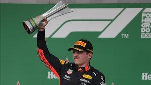 Max Verstappen fue justo ganador