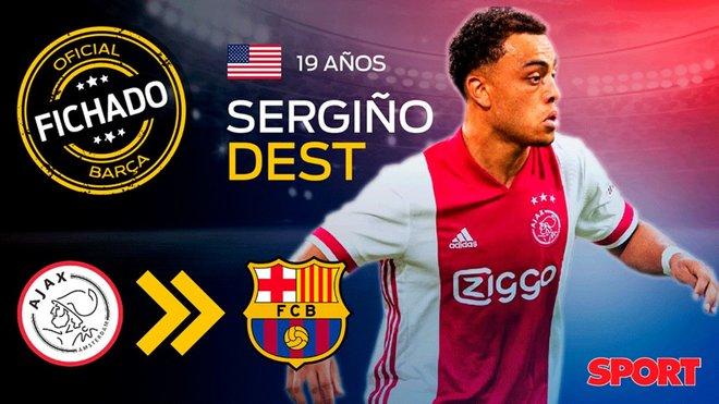 OFICIAL: el Barça anuncia el fichaje de Sergiño Dest