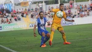 Abeledo tuvo un discreto paso por el Barça B
