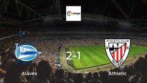 Alavés cruise to a 2-1 victory vs. Athletic at Estadio de Mendizorroza