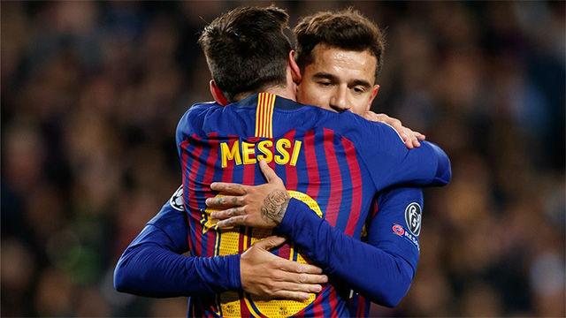La alineación del FC Barcelona en la final de Copa