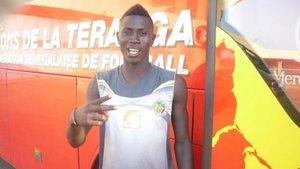 Amadou Boiro tuvo un paso fugaz por el Nàstic