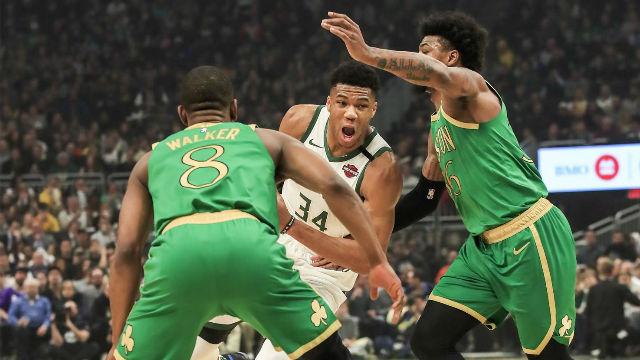Antetokounmpo, una pesadilla para los Celtics