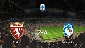 El Atalanta se lleva los tres puntos ante el Torino (2-4)