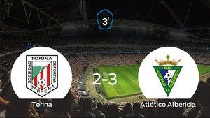 El Atlético Albericia se impone al Torina y consigue los tres puntos (2-3)