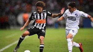 Atlético MG y Nacional chocaron en un intenso partido