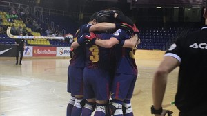 El Barça Lassa logró una plácida victoria en el Palau