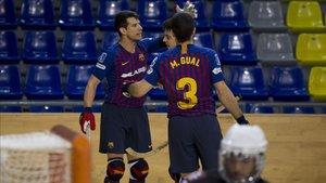 El Barça Lassa superó con creces a un valiente Sant Cugat