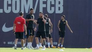 El FC Barcelona prepara su duelo inédito contra el Olympiacos