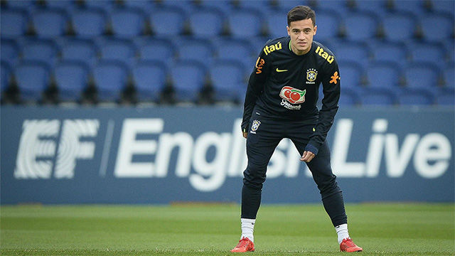 Brasil se entrena en Wembley para enfrentarse a Inglaterra