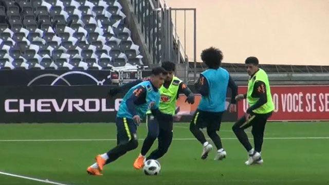 Brasil se pone las pilas para el encuentro ante Alemania