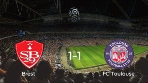 El Brest y el FC Toulouse firman las tablas tras empatar 1-1