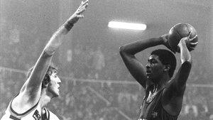 Chicho Sibilio fue un icono del Barça de basket en la época de los ochenta
