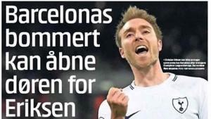 Christian Eriksen sigue interesando al Barcelona