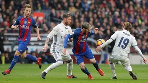 El clásico enfrenta al Real Madrid y al Barça en el Bernabéu