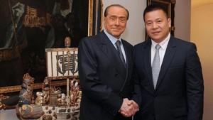 El empresario chino Yonghong compró a Berlusconi el Milan en el 2016