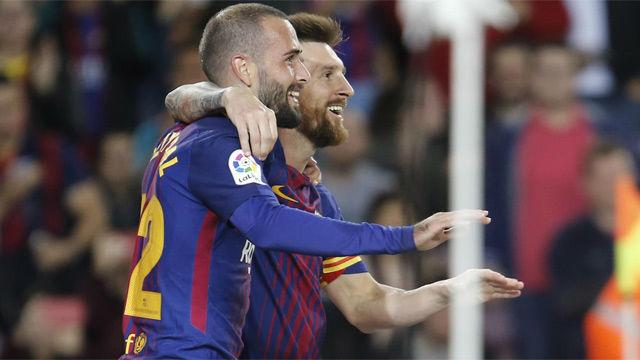 Esta es la alineación del Barça contra el Espanyol