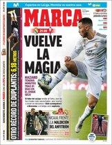 Esta es la portada de Marca del domingo 16 de febrero