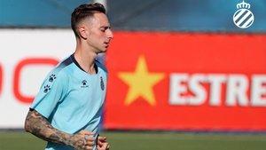 Fernando Calero espera llegar lo más lejos posible en la Europa League.