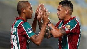Fluminense derrotó a Atlético Nacional en la ida