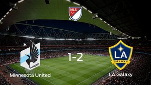 El LA Galaxy sigue en los playoff de la Major League Soccer tras imponerse al Minnesota United en los octavos de final (1-2)