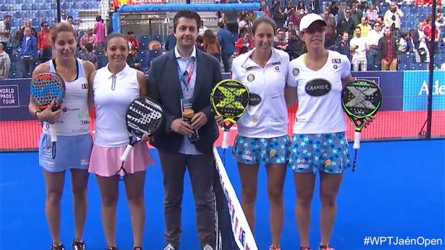 Gemma Triay y Lucia Sainz, a semifinales
