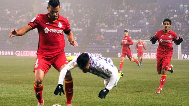 El Getafe, a cuartos gracias a un polémico penalti
