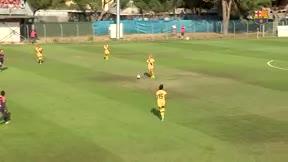 Un gol de Oshoala dio el triunfo a las culés ante el Montpellier