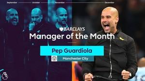 Guardiola elegido mejor entrenador del mes de diciembre
