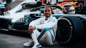 Hamilton, muy activo contra el racismo