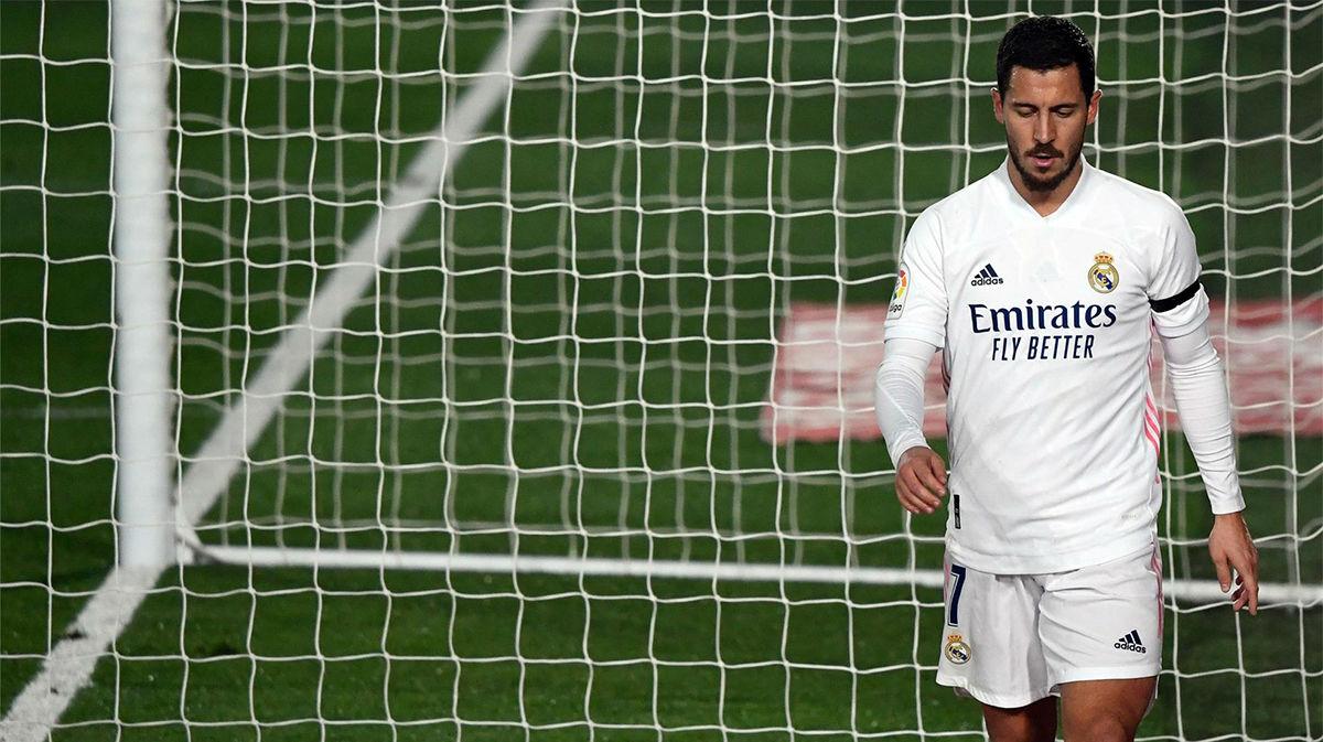 Hazard vuelve a encender las alarmas en el Real Madrid