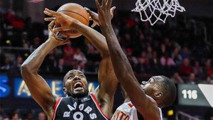 Ibaka no evitó la derrota de los Toronto Raptors