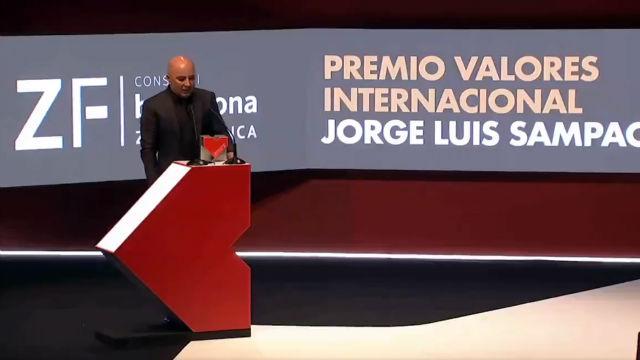 Jorge Sampaoli, Premio Valores Internacional