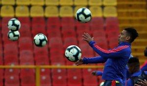 El jugador colombiano Radamel Falcao